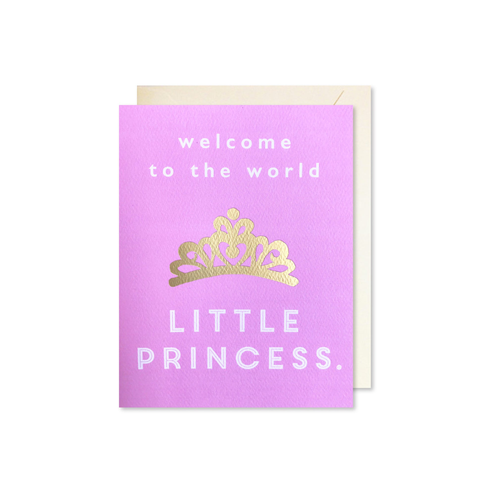 Baby Princess Card