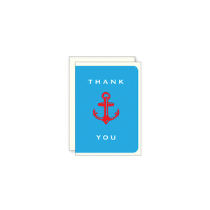 Thank You Anchor Mini Card