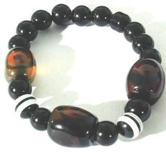 Beautiful Tibetan Agate Bead Bracelet