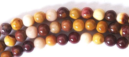 Shiny Australian Desert Mookaite Beads - 4mm ,6mm, 8mm or 10mm