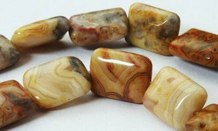 Shiny Creative Crazy Lace Agate Pillow Beads