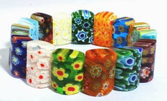 Beautiful Millefiori Bead Bracelet
