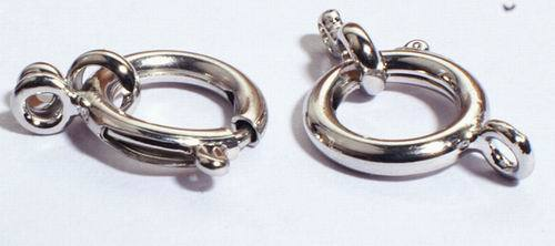 10 Strong Necklace Ring Clasps - very secure!
