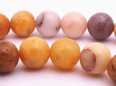 Enchanting 10mm Autumn Agate Beads