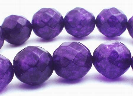 Sparkling Faceted 10mm Amethyst Beads