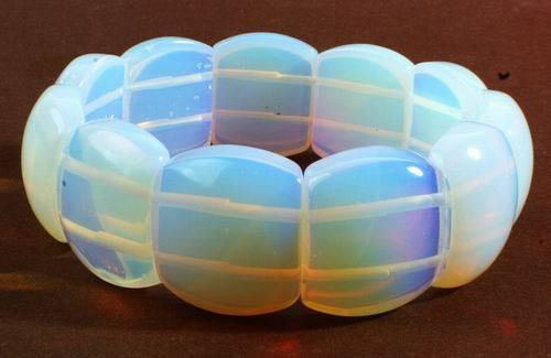 Chunky Moonstone Bracelet #2 - Calms The Emotions
