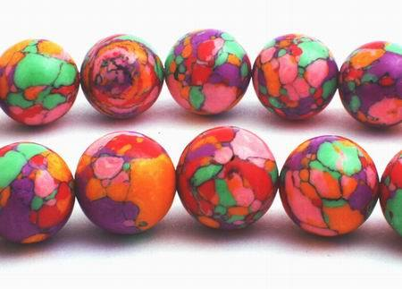 Breathtaking Summer Rainbow Calsilica - 12mm