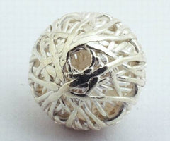 Thai Silver Bird's Nest Spacer - 12mm