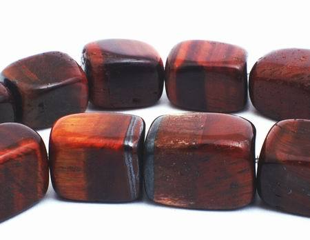 Large Rich Red Tiger Eye Nuggets - Heavy!