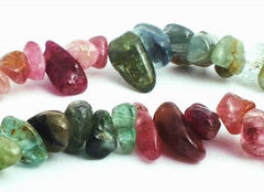 Enchanting Tourmaline Small Nugget Beads