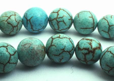 Fantastic Value Light Blue Turquoise Beads - 4mm or 8mm