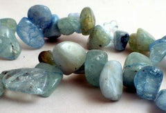 Blissful Aquamarine Fancy Drop Beads
