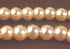 Irresistible Champagne Glass Pearl Beads - 6mm