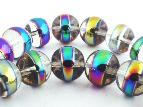 30 Large 14mm Magical Crystal Beads - Heavy!