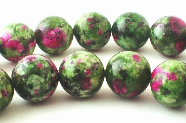 Sexy Creative Ruby Zoisite Beads - 4mm, 6mm & 10mm