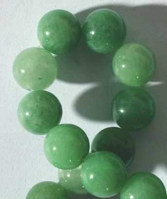 Fresh Spring-Green Aventurine Beads - 4mm,6mm,8mm &10mm