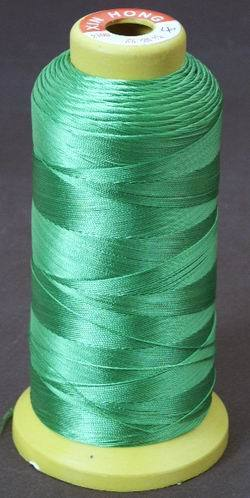 Green Beading Thread - Fine Imitation Silk