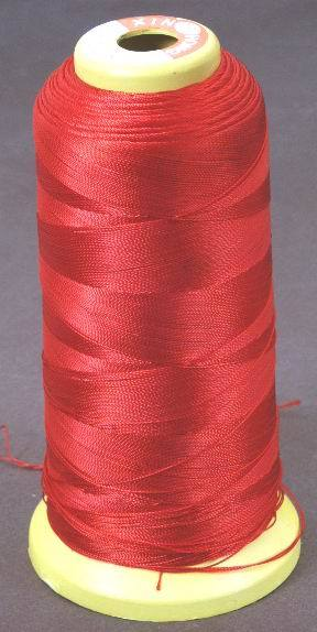 Red Beading Thread - Fine Imitation Silk