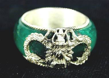 Enchanting Chinese Jade Dragon Ring