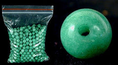 100 Best Chinese Green Jade Beads - 4mm, 6mm or 8mm