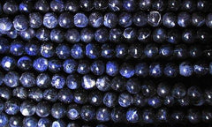 Beautiful Space-Blue Sodalite Beads - 4mm or 8mm