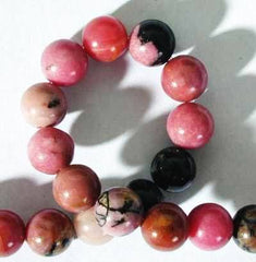 Fiery Rhodonite Beads