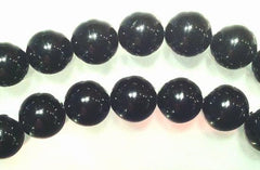 Devil-Black Tourmaline Beads: 3mm, 6mm, 8mm or 10mm