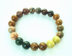 Chunky Mixed-Jasper Bracelet - Great For Healing!