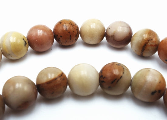 Beautiful  Camel Jasper Bead String-6mm or 8mm