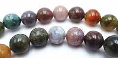 Passionate Indian Agate Bead String- 4mm, 6mm or 8mm