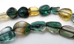 Beautiful Chrome Diopside Small Free Form Nugget Beads
