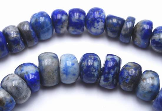 84 Beautiful Blue Sodalite Heishi Beads