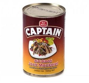 Captain Jack Mackeral - 425g - Lanka Basket
