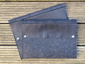 Laptopsleeve 15 inch macbook - zwart