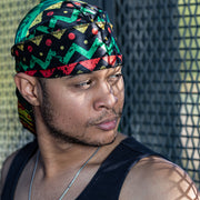 Buy Silk Designer Durags Reggae Soul satin durag - Solution4evolution.com