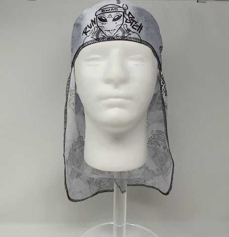 Buy Silk Designer Durags Alien Swag satin durag - Solution4Evolution.com
