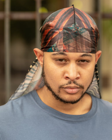 Buy Silk Designer Durags Illuminati Realm satin durag. - Solution4evolution.com