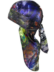 Buy Silk Designer Durags Many Faces satin durag - Solution4evolution.com