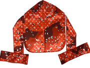 Buy Silk Designer Durags S4E Red Camouflage satin durag. - Solution4evolution.com