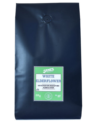 White Elderflower - 250 gr påse