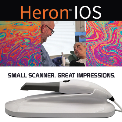 HERON™ IOS COLOR SCANNER.     CALL 800-392-1171 for Current Promotions