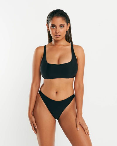 Underwire Crop - Black