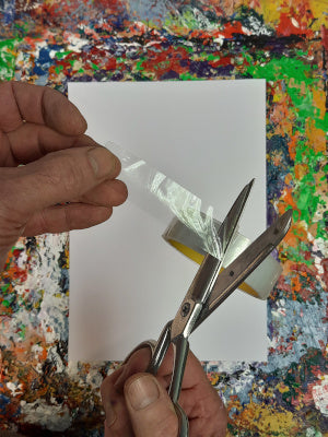 Phil Ironside, A Painting A Day, Cutting the tape