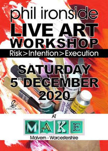 Live Art Workshop No-10 onSat 5th December 2020 - All materials included