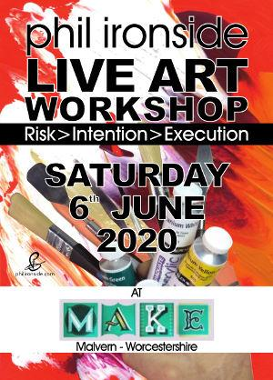 Live Art Workshop No-04 on Sat 6th June 2020 - All materials included