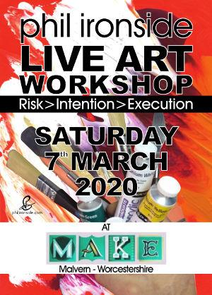 Live Art Workshop No-02 on Sat 7th March 2020 - All materials included