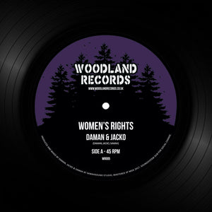 "DAMAN & JACKO - Woman's Rights (7"")"