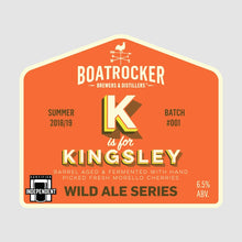 Load image into Gallery viewer, BOATROCKER K IS FOR KINGSLEY