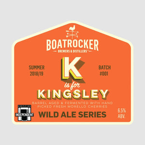 BOATROCKER K IS FOR KINGSLEY
