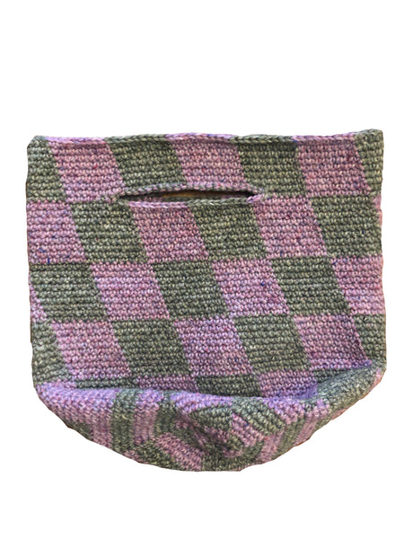 Land and Sea Basket / Green&Lilac